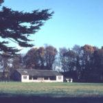Cricket Pavilion - Hovis Sports Ground, Bishopsford Road, Mitcham, Surrey CR4. The site of Mitcham Grove.