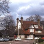 The Surrey Arms, Morden Road, Mitcham, Surrey CR4. c. 1920s-30s. replacing an earlier building.