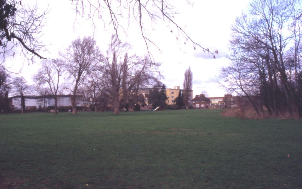 Ravensbury Park, Mitcham, Surrey CR4. Old calico grounds.