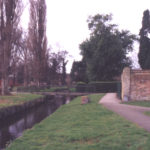 Ravensbury Park,, Mitcham, Surrey CR4. Water course serving old printing works.
