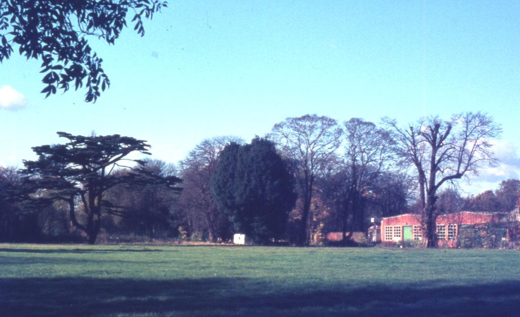 Hovis Sports Ground, Bishopsford Road, Mitcham, Surrey CR4. The site of Mitcham Grove.