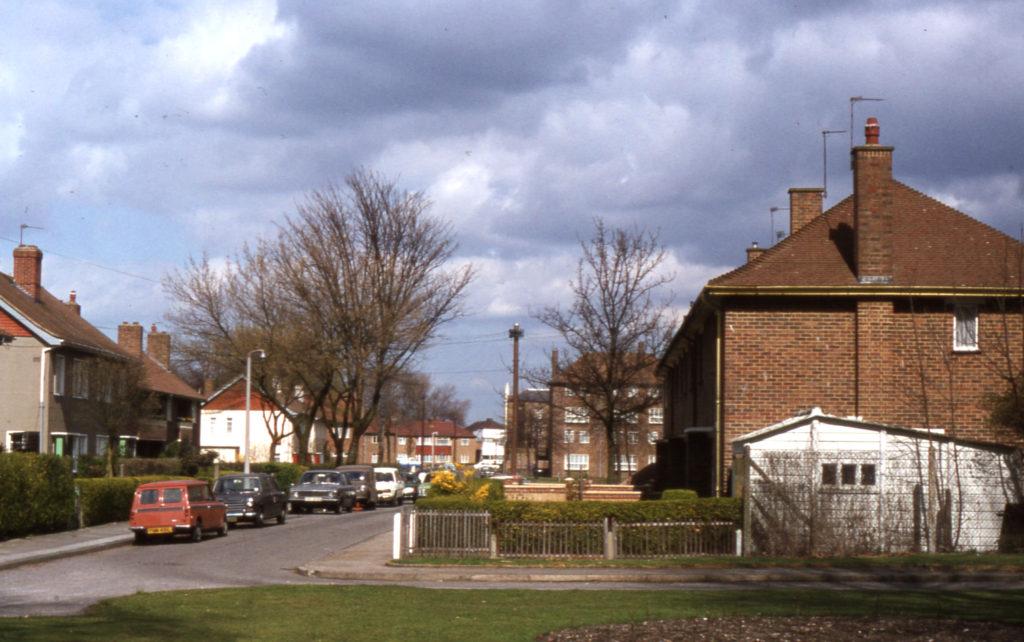 Ravensbury estate, Mitcham, Surrey CR4.