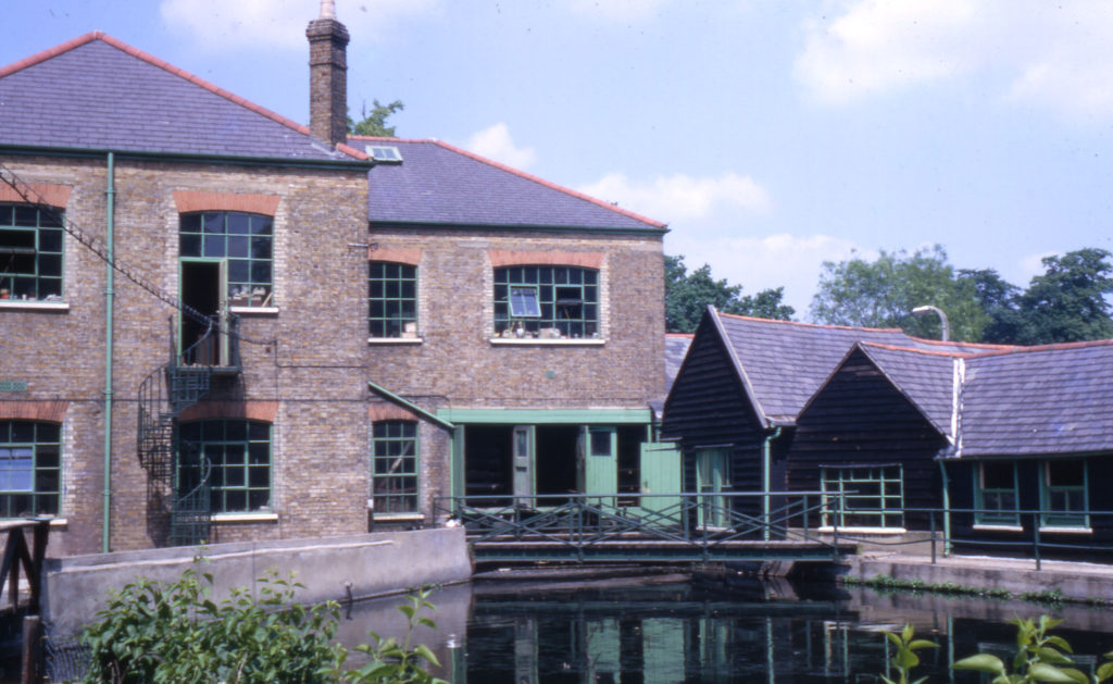 Ravensbury Mill, Morden Road, Morden, Surrey SM4. From the Wandle.