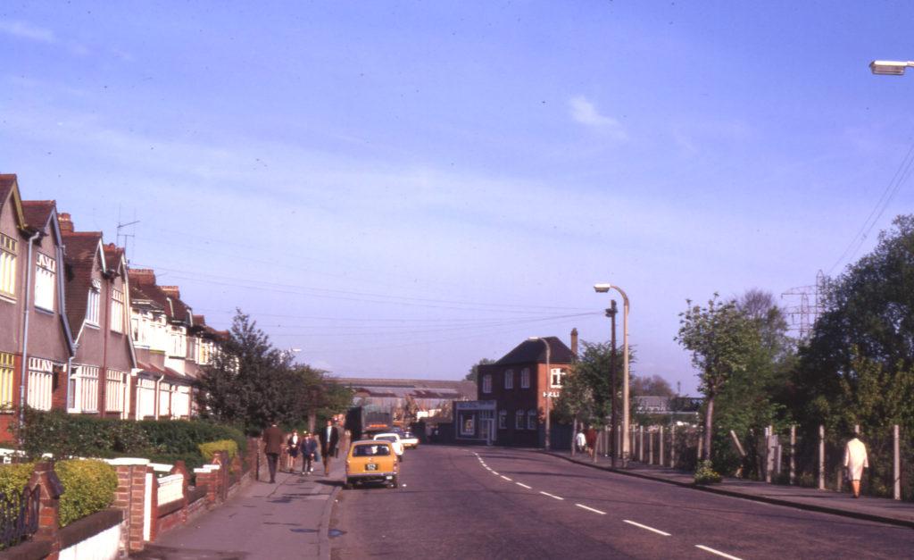 Morden Road, Mitcham, Surrey CR4. Part of Saxon Cemetary site.