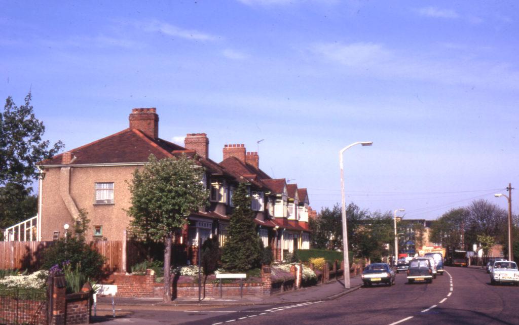 Morden Road/Heatherdene Close, Mitcham, Surrey CR4. Part of Saxon Cemetary site.