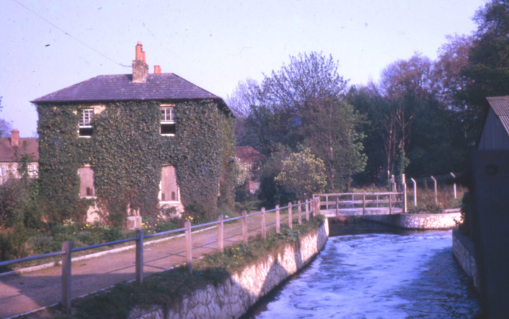 Morden Road, adjoining Ravensbury Mill, Morden, Surrey SM4. From the Wandle.