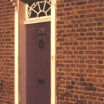 Prospect House, 9 Commonside East, Mitcham, Surrey CR4. Georgian doorway.