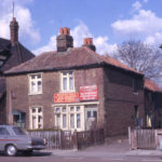 27 & 29 Commonside East, Mitcham, Surrey CR4. The Three Kings on left.