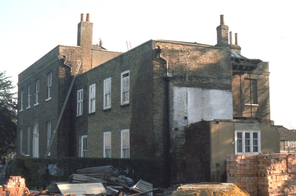 Park Place, Commonside West, Mitcham, Surrey CR4. Front elevation. renovation.