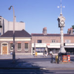 Jubilee Clock, Upper Green, Mitcham, Surrey CR4. Erected in 1898 to celebrate Victoria