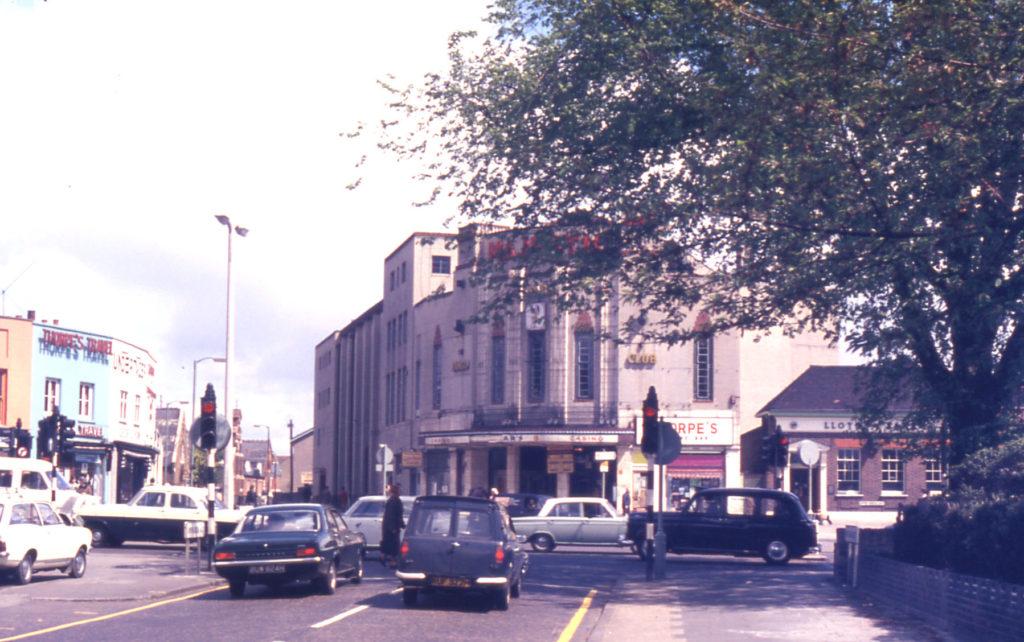 Majestic Cinema, Upper Green east, Mitcham, Surrey CR4. Built 1933. Demolished 1978.