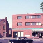 Barclays Bank, 29 Upper Green east, Mitcham, Surrey CR4. Built c. 1970.