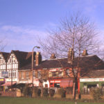 Northern side of Fair (Upper) Green West, Mitcham, Surrey CR4.