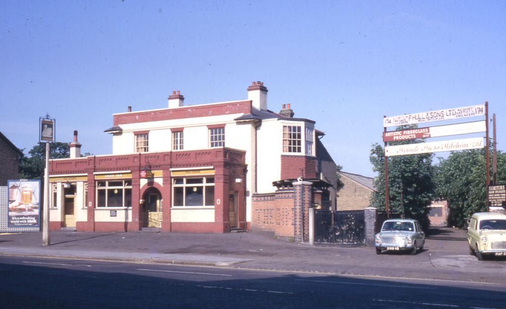 The Swan Inn, London Road, Mitcham, Surrey, CR4.