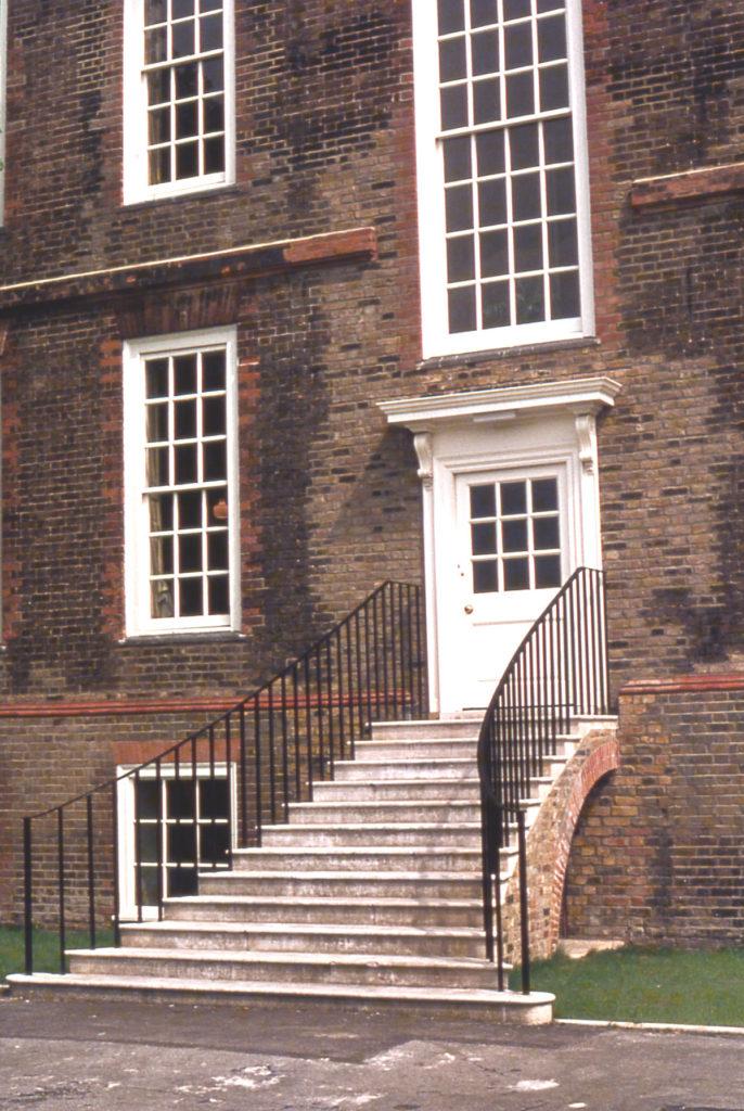 Eagle House (rear door), London Road, Mitcham, Surrey, CR4.