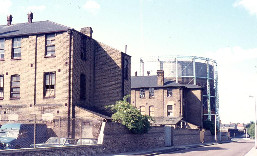 James' Estate, Western Road, Mitcham, Surrey, CR4. Formerly Holborn Union Workhouse.