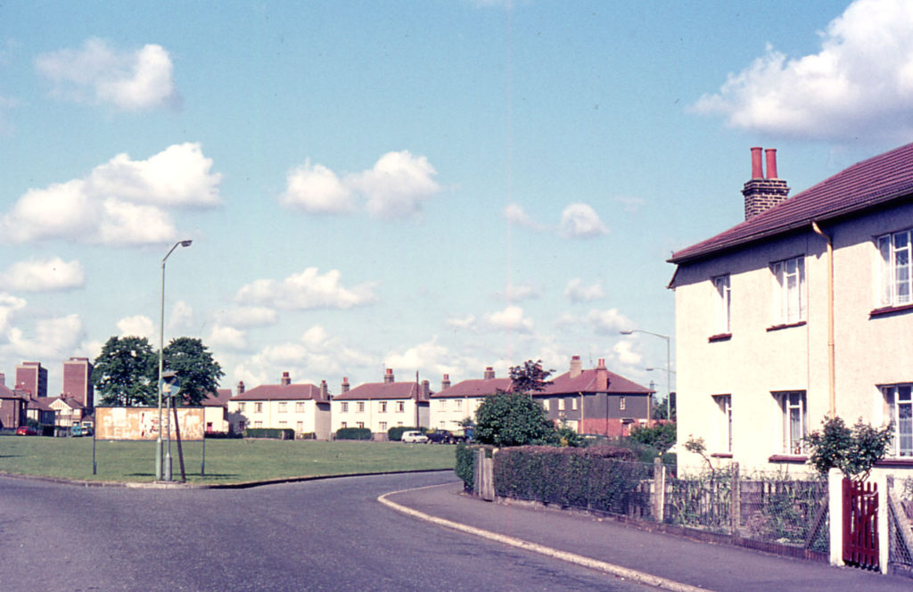 Mount Road Housing Estate, Mitcham, Surrey, CR4, built 1920s