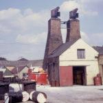 Old varnish houses Western Road, Mitcham, Surrey, CR4. Demolished c. 1971.