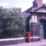 Rear entrance to former Holborn Union Workhouse, Western Road, Mitcham, Surrey, CR4. The main entrance was in London Road.