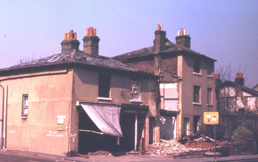 190-200 London Road, Mitcham, Surrey, CR4. Demolition.