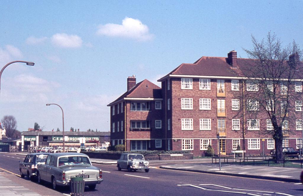 London Road/Armfield Crescent, Mitcham, Surrey, CR4.
