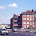 London Road/Armfield Crescent, Mitcham, Surrey, CR4.