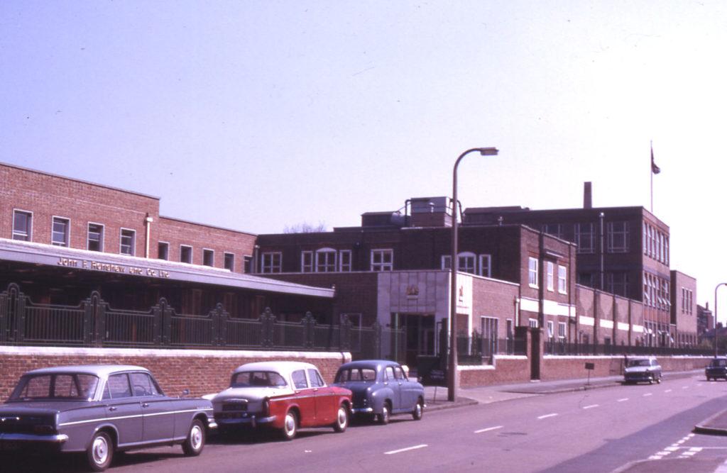 John F. Renshaw Factory, Locks Lane, Mitcham, Surrey, CR4.