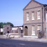 Remains of the Holborn Union Industrial Schools, London Road, Mitcham, Surrey, CR4.
