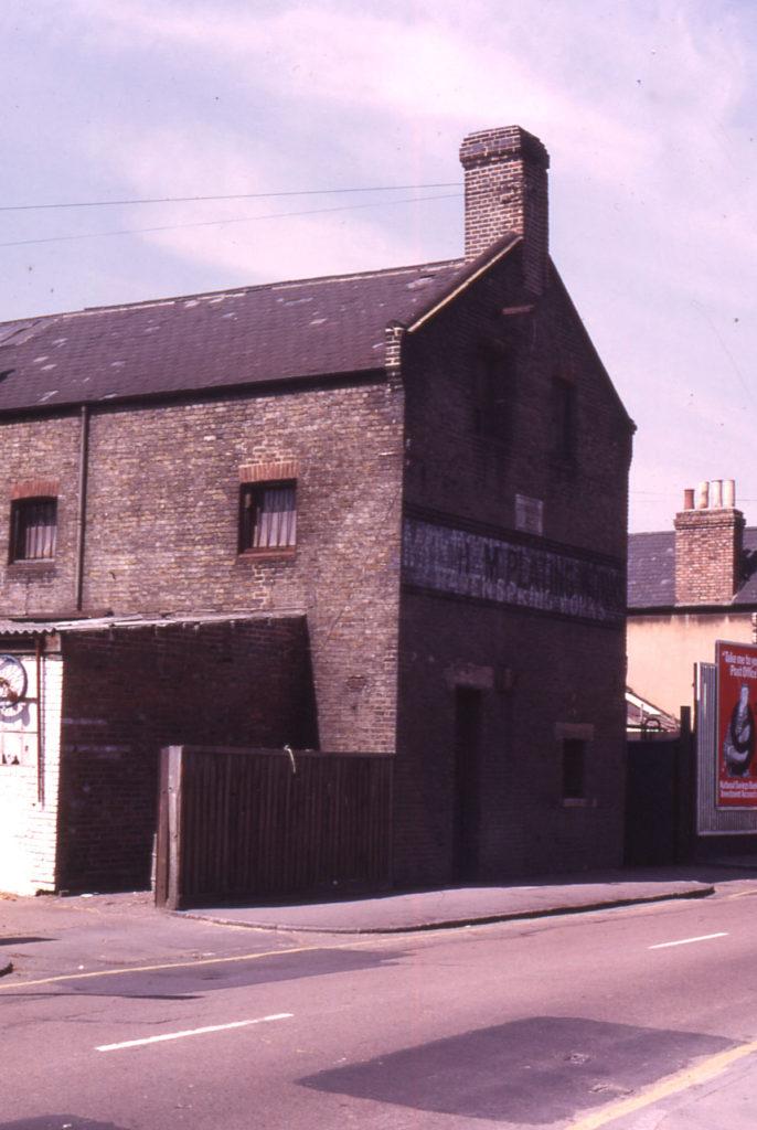 Ravenspring Works, 37-39 Western Road, Mitcham, Surrey, CR4. Established 1877.
