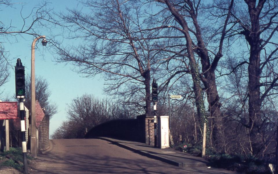 Willow Lane Rail bridge, Mitcham, Surrey CR4.