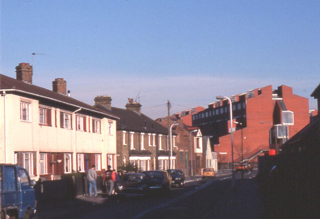 Love Lane area, Mitcham, Surrey CR4.