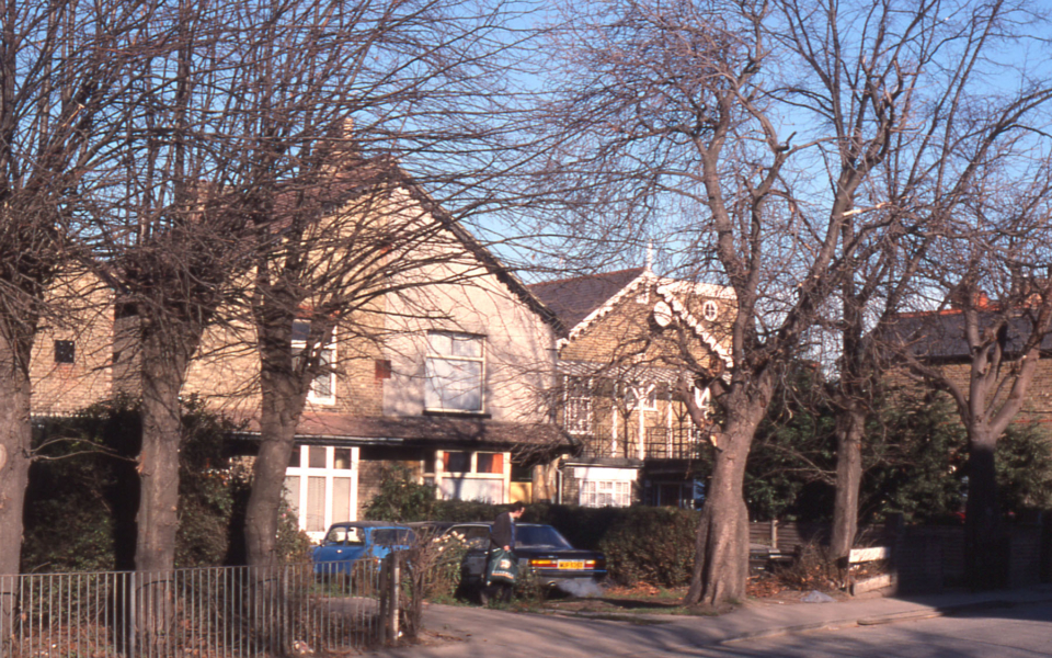In Benedict Road, Mitcham, Surrey CR4.