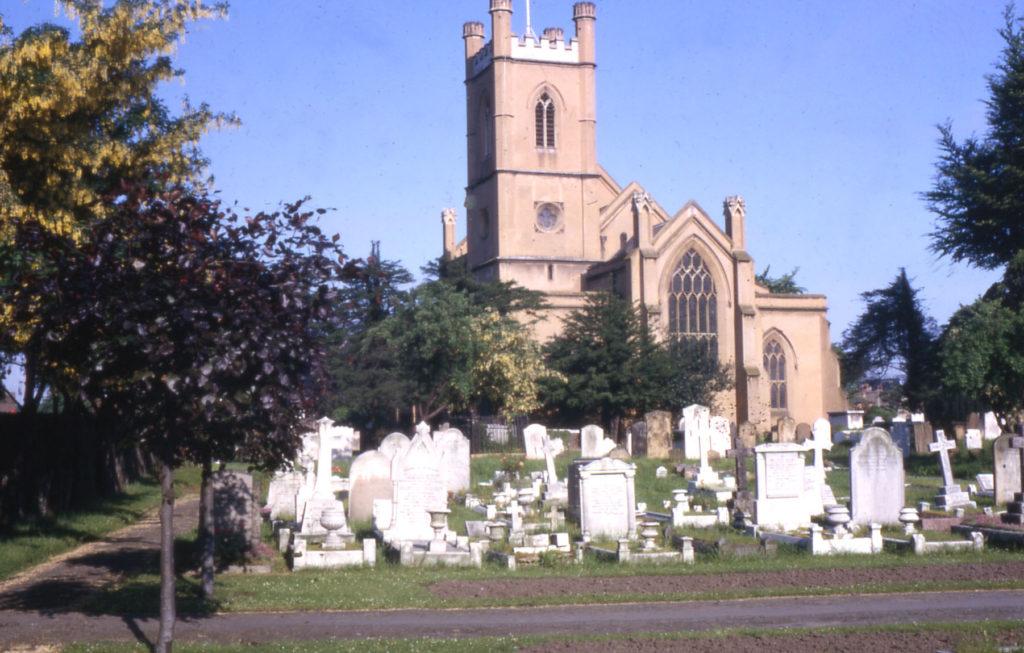 Mitcham Parish Church, Mitcham, Surrey CR4.
