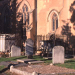 Listed tombs in Mitcham Parish Church, Mitcham, Surrey CR4.