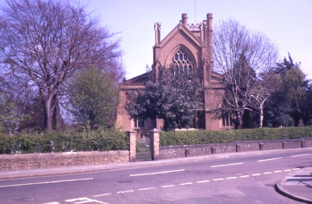Mitcham Parish Church from the west, Mitcham, Surrey CR4.