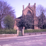 Mitcham Parish Church from the west, Mitcham, Surrey CR4.