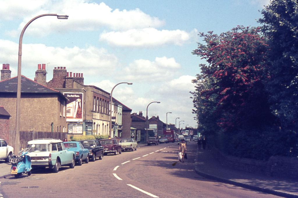 Church Road west side, north of Benedict Road, Mitcham, Surrey CR4.