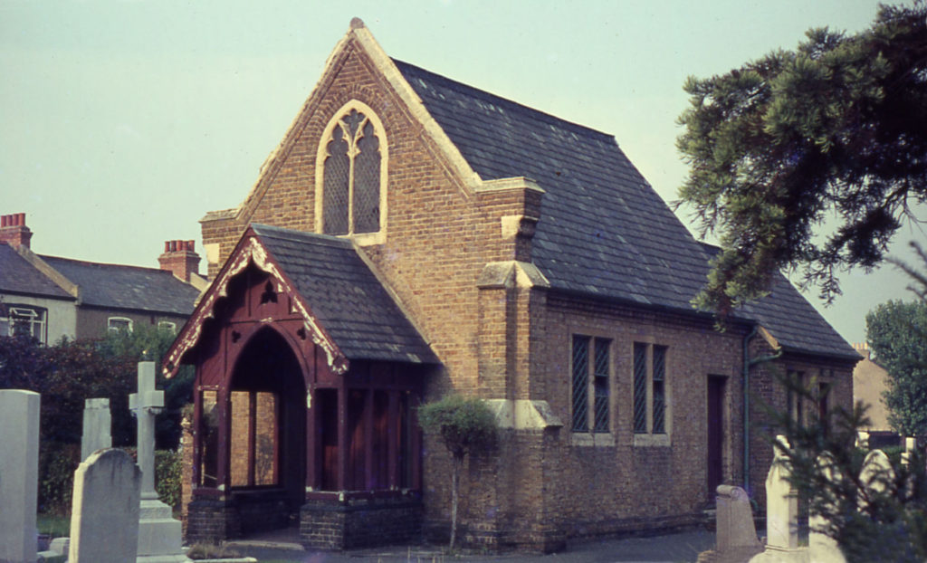 Mortuary Chapel Mitcham Parish Church Cemetery, Mitcham, Surrey CR4.