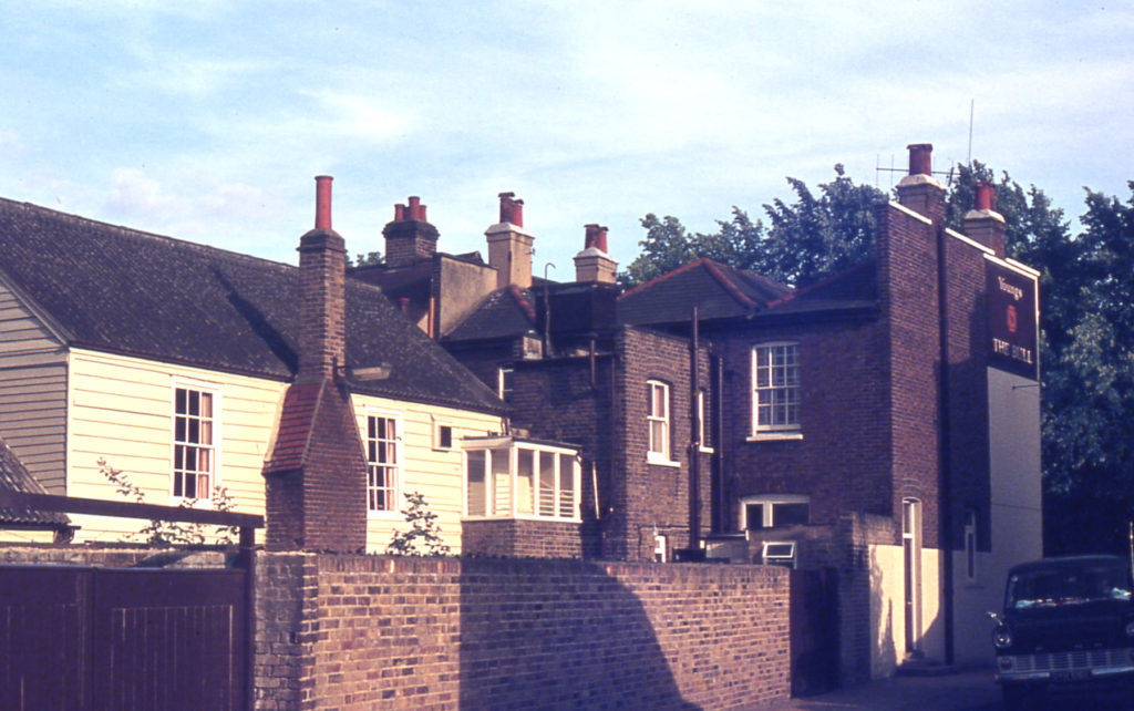 Rear of The Bull Inn, Church Road, Mitcham, Surrey CR4.