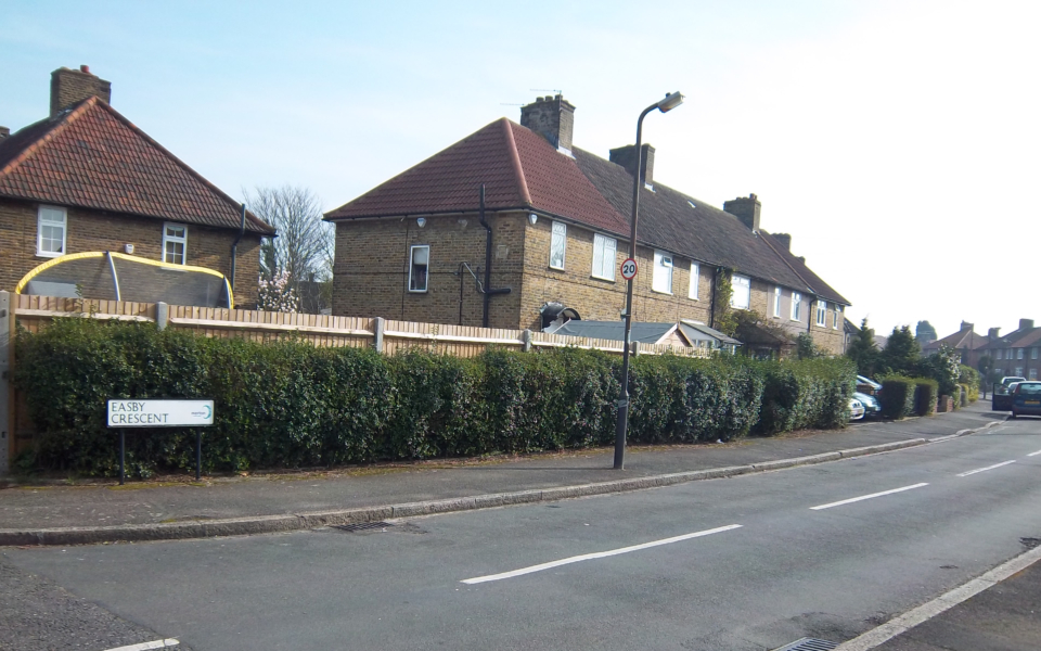 St Helier Estate: Easby Crescent (PJH) 2014