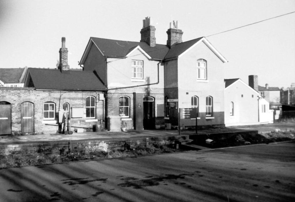 Merton Park station (1972) WJR