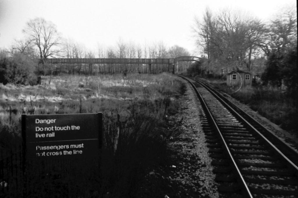 Merton Park station Croydon branch (1972) WJR