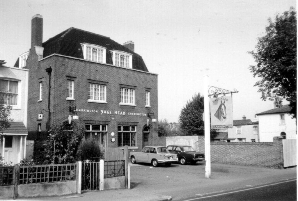 Nags Head public house Morden Rd SW19 (1970) WJR
