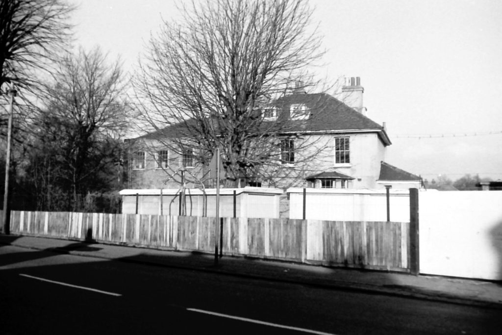 Ravensbury Mill House from St Helier Avenue (1972) WJR