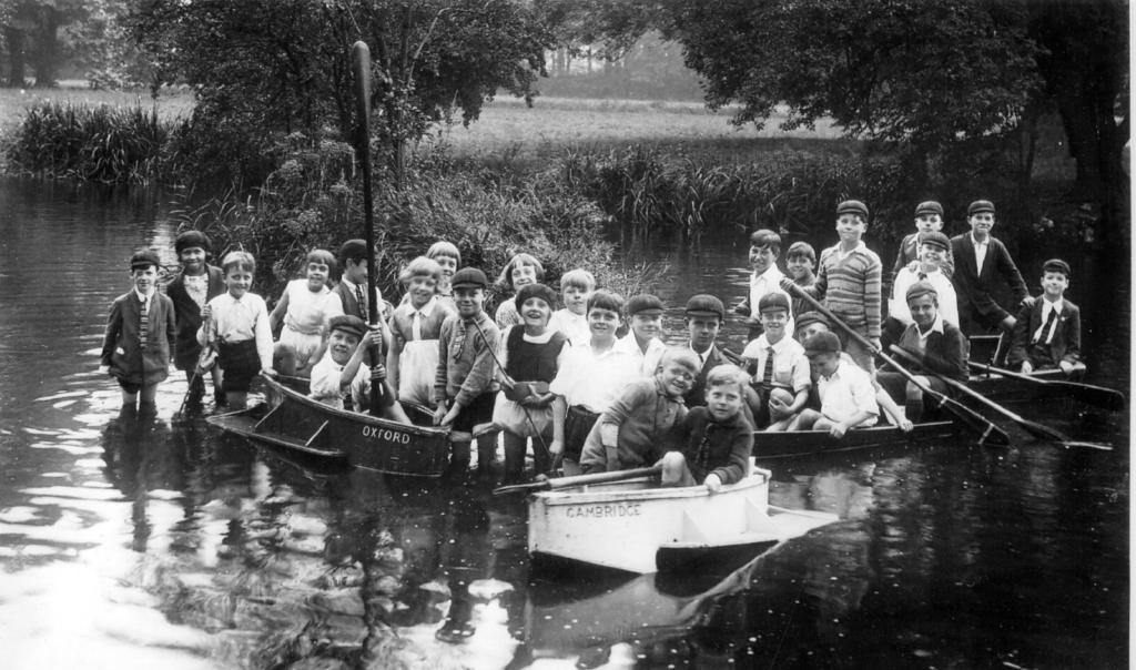 Boating at Morden Hall Park. Photo courtesy of Madeline Healey.