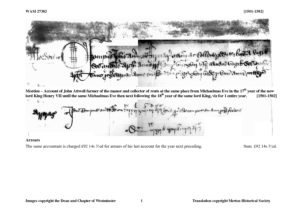 WAM 27382: 1501-1502 (M)