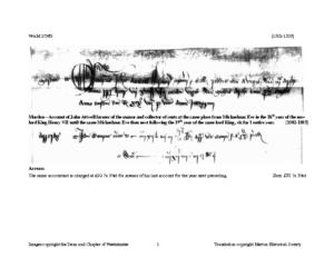 WAM 27383: 1502-1503 (M)