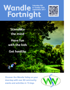 Wandle Fortnight 2017 leaflet