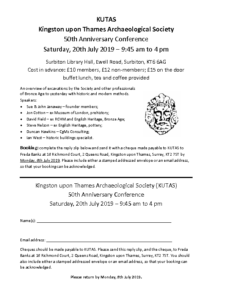 Booking_form_for_KUTAS_50th_Anniversary_Conference_20th_July_2019_FINAL_version