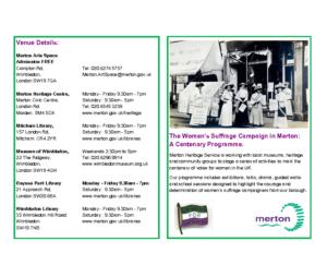 suffrage brochure